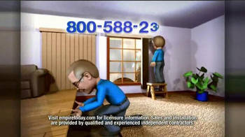 Empire Today 50/50/50 Sale TV Spot, 'Schedule your Free Home Estimate' - Thumbnail 9