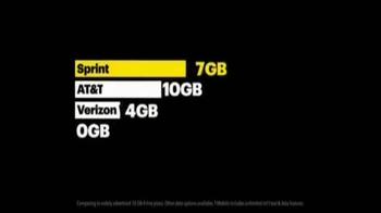 Sprint Family Share Pack TV Spot, 'The Best Value in Wireless' - Thumbnail 5