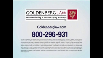 Goldenberg Law TV Spot, 'Talcum Powder' - Thumbnail 10
