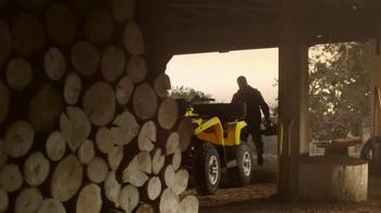 Can-Am Outlander L TV Spot, 'Job Well Done' - Thumbnail 1