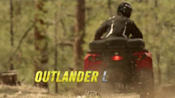 Can-Am Outlander L TV Spot, 'Job Well Done' - Thumbnail 4