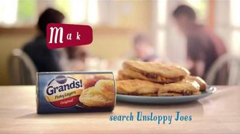 Pillsbury Grands! Flaky Layers TV Spot, 'Unsloppy Joes' - Thumbnail 9