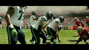 DURACELL Quantum TV Spot, 'NFL On the Line: The Seattle Seahawks' [Spanish] - 354 commercial airings