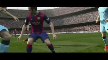 FIFA 15 TV Spot, 'The Play' Featuring Lionel Messi - Thumbnail 3
