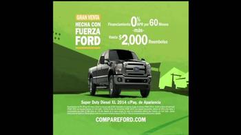Ford F-Series TV Spot, 'Gran Venta Hecha con Fuerza Ford' [Spanish] - Thumbnail 9
