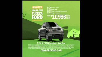 Ford F-Series TV Spot, 'Gran Venta Hecha con Fuerza Ford' [Spanish] - Thumbnail 8
