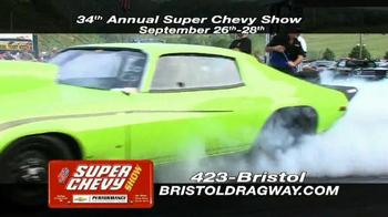 Bristol Dragway 34th Annual Super Chevy Show TV Spot - Thumbnail 1