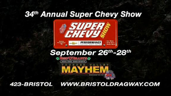 Bristol Dragway 34th Annual Super Chevy Show TV Spot - Thumbnail 9