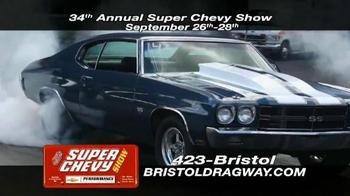 Bristol Dragway 34th Annual Super Chevy Show TV Spot