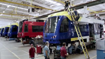 Siemens Rail TV Spot, 'Somewhere in America' - Thumbnail 6