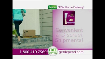 Depend Silhouette TV Spot, 'Home Delivery' - Thumbnail 9