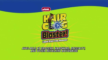 Whink Hair Clog Blaster TV Spot - Thumbnail 9