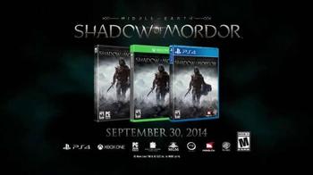 Middle-Earth: Shadow of Mordor TV Spot, 'E3 Award Nominations' - Thumbnail 5