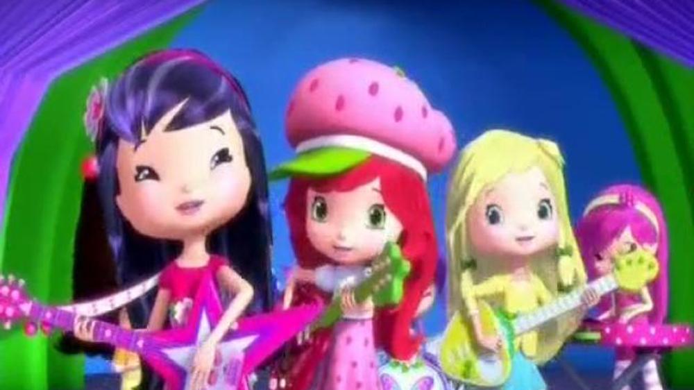 Strawberry Shortcake Berry Best Friends on DVD & Digital Copy TV Spot
