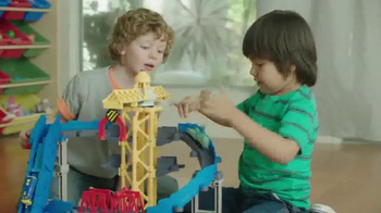 Tomy Brewster's Big Build Adventure Set TV Spot, 'Chuggington StackTrack' - Thumbnail 5