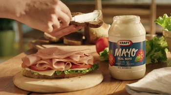 Kraft Mayo TV Spot, 'Real Mayo. Food Deserve Delicious' - Thumbnail 6