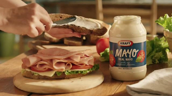Kraft Mayo TV Spot, 'Real Mayo. Food Deserve Delicious' - Thumbnail 7