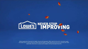 Lowe's TV Spot, 'How to Work Out the Triceps' - Thumbnail 10