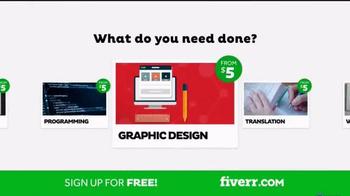 Fiverr TV Spot, 'Business Needs' - Thumbnail 6