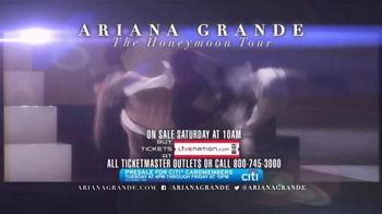 Ariana Grande The Honeymoon Tour TV Spot - Thumbnail 7