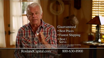 Rosland Capital Silver TV Spot, 'A Great Way to Start Investing'  - Thumbnail 7