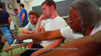 University of Maryland TV Spot, 'We are The University of Maryland!'