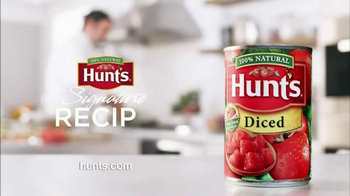 Hunt's Diced Tomatoes TV Spot, 'Fresh & Delicious Flavors' Ft. George Duran - Thumbnail 10