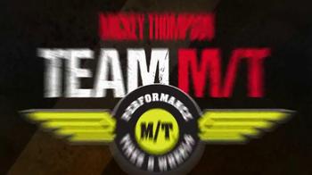 Mickey Thompson Performance Tires & Wheels TV Spot, 'Team M/T' - Thumbnail 1