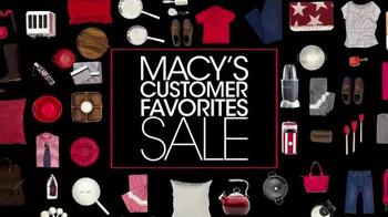 Macy's Customer Favorites Sale TV Spot