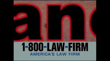 1-800-LAW-FIRM TV Spot, 'Melanoma' - Thumbnail 1
