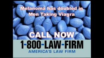 1-800-LAW-FIRM TV Spot, 'Melanoma' - Thumbnail 10