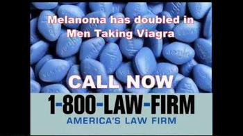 1-800-LAW-FIRM TV Spot, 'Melanoma' - Thumbnail 7