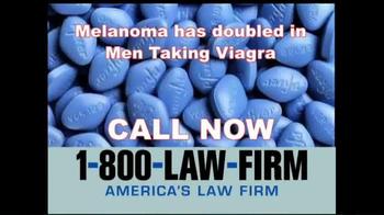 1-800-LAW-FIRM TV Spot, 'Melanoma' - Thumbnail 8