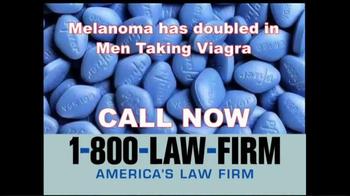 1-800-LAW-FIRM TV Spot, 'Melanoma' - Thumbnail 9