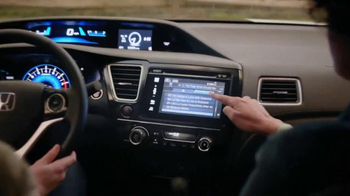 2014 Honda Civic TV Spot, 'Lydia's New Civic' - Thumbnail 6