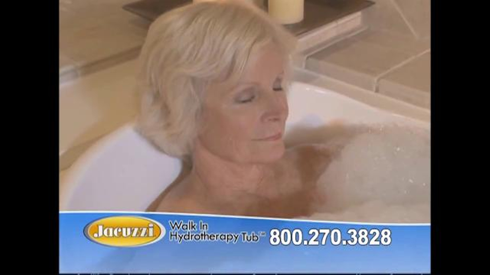 Jacuzzi Walk In Hydrotherapy Tub TV Commercial, \'Safe Bathing ...