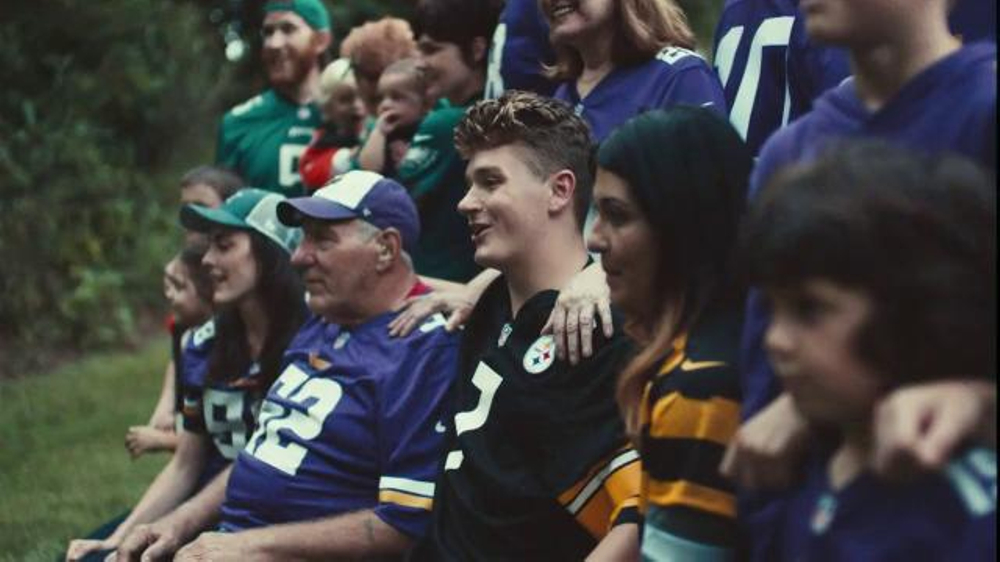 best service 9641b 6c6cd NFL Shop TV Commercial, 'Vikings, Bengals, Eagles, Steelers, Cowboys  Family' - Video