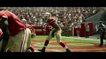 DURACELL Quantum TV Spot, 'NFL On the Line: San Francisco 49ers' [Spanish] - 377 commercial airings