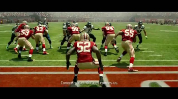 DURACELL Quantum TV Spot, 'NFL On the Line: San Francisco 49ers' [Spanish] - Thumbnail 8