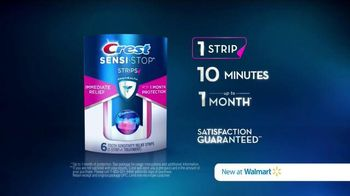 Crest Sensi-Stop Strips TV Spot, 'One Month of Protection' - Thumbnail 10