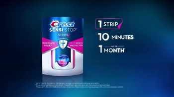 Crest Sensi-Stop Strips TV Spot, 'One Month of Protection' - Thumbnail 5