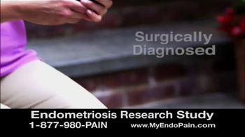 Solstice Study TV Spot, 'Endometriosis Research Study' - Thumbnail 9