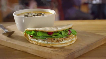 Panera Turkey Cranberry Flatbread TV Spot, 'Perfect Combination' - Thumbnail 9
