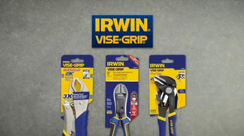 Irwin Vice Grip Curved Jaw Locking Pliers TV Spot, 'Hmm' - Thumbnail 10