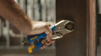 Irwin Vice Grip Curved Jaw Locking Pliers TV Spot, 'Hmm' - Thumbnail 3