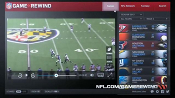 NFL Game Rewind TV Spot - Thumbnail 6