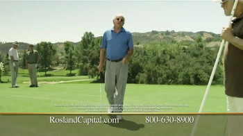 Rosland Capital Gold and Silver IRAs TV Spot, 'Golf' - Thumbnail 7