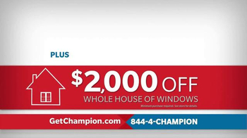 Champion Windows TV Spot, 'Air Leaks and Drafts' - Thumbnail 8