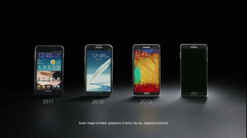 Samsung Galaxy Note 4 TV Spot, 'Then and Now' - Thumbnail 1