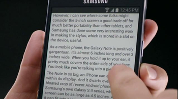 Samsung Galaxy Note 4 TV Spot, 'Then and Now' - Thumbnail 2